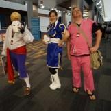 Vega/Balrog/Claw, Chun Li and Dan from the Street Fighter series.