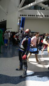 Soldier: 76 from overwatch at Anime Expo 2018.