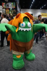 Blanka-chan from Street Fighter V makes an appearance!