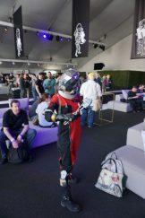 Morgan Yu from Prey attending the Bethesda E3 2018 Showcase.