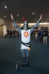Solaire of Astora from Dark Souls.