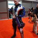 Soldier: 76 from Overwatch.