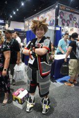 Sora as he appears in Kingdom Hearts III.