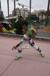 A genderbent Talim from SoulCalibur.