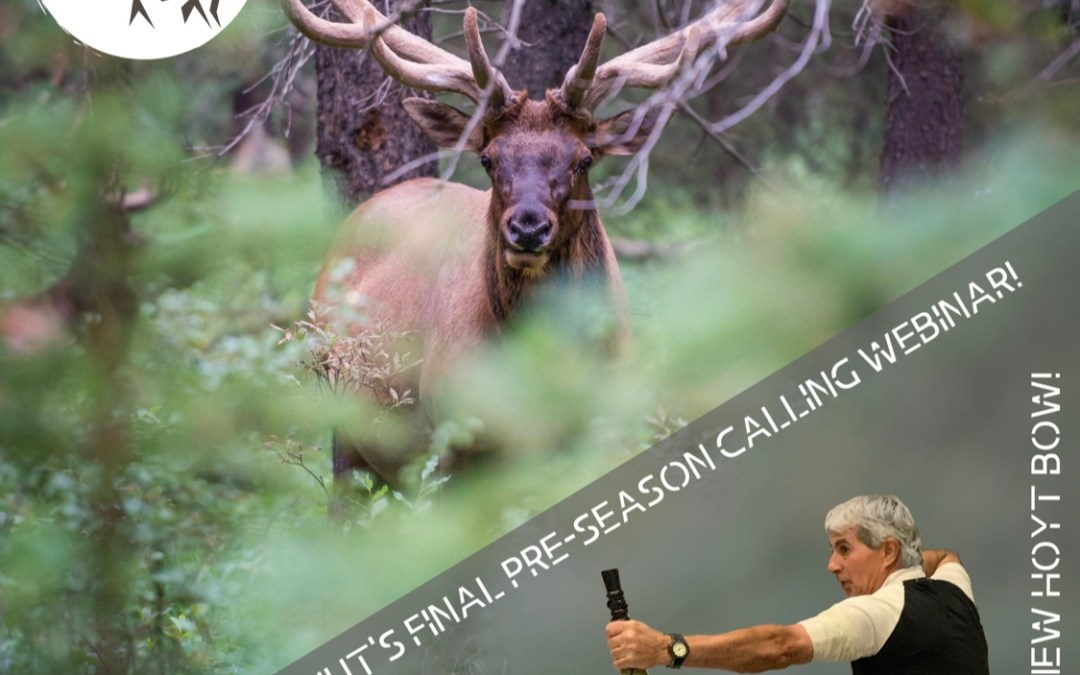Don't miss the ElkNut's third and final pre-season elk calling webinar!