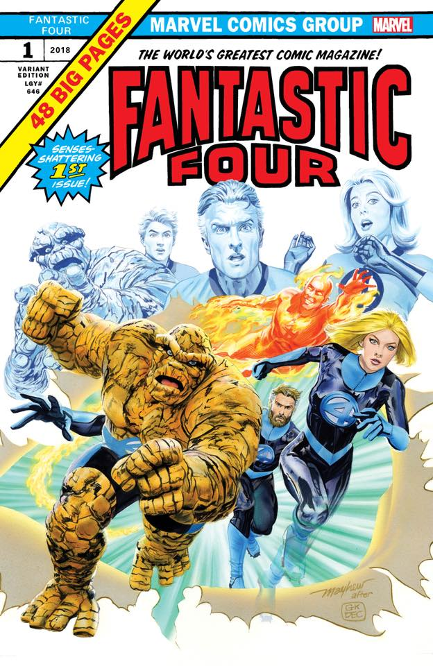 Fantastic Four #1 Gotham Central Exclusive Variant