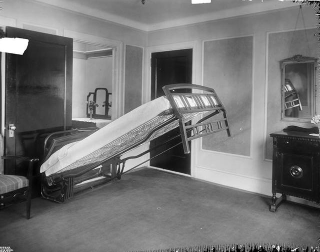 Cama rebativel em Nova Iorque, 1923