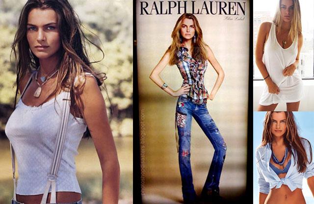 model skinny Ralph lauren