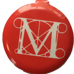 Met Button - Red