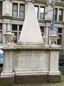 Hamilton Monument, Trinity Church, Manhattan
