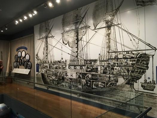 Square-Rigged Ship, Brooklyn Navy Yard