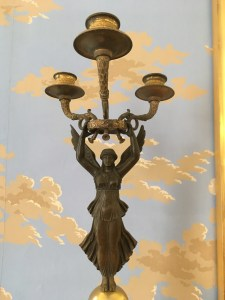 Sconce With Wallpaper, Morris Jumel Mansion