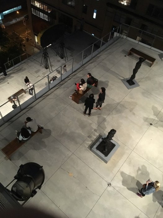 Whitney Museum terraces