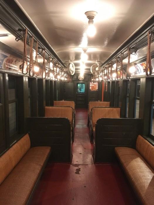 Vintage Subway Car, Transit Museum