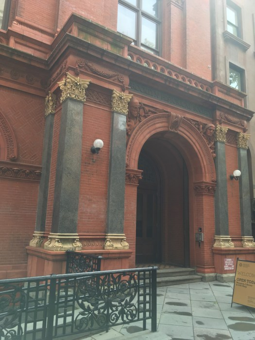 Brooklyn Historical Society Entrance