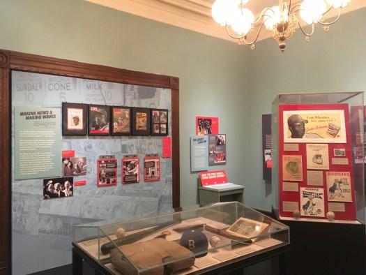 Jackie Robinson at the Brooklyn Historical Society