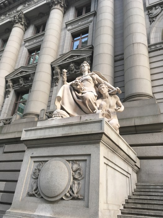 Allegorical Figures, Alexander Hamilton Customs House, New York