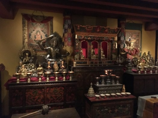 Buddhist Shrine Recreation, Rubin Museum