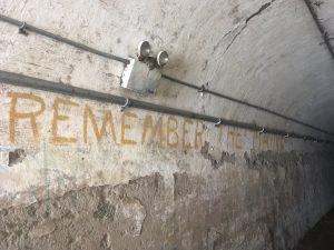 Graffiti, Fort Totten Water Battery, Queens, New York