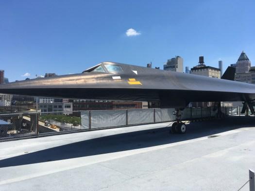 Stealth Plane, Intrepid Flight Deck, New York