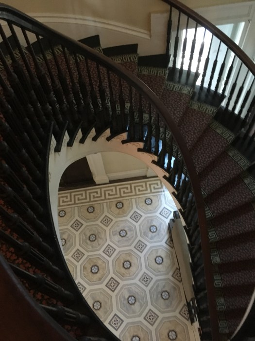 Staircase at Bartow-Pell Mansion, The Bronx