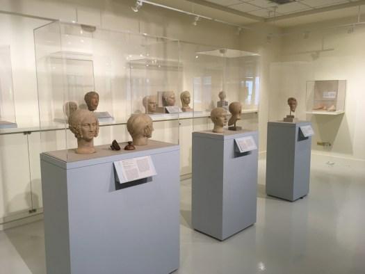 Votive Heads, Fordham Museum, Bronx New York