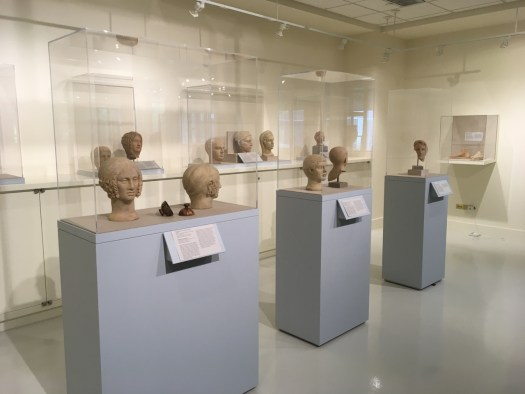 Votive Heads, Fordham Museum, Bronx New York