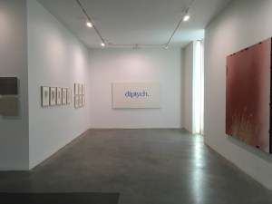 Diptych, Fisher Landau Center, Queens