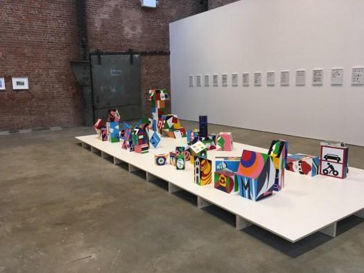 Teresa Burga, SculptureCenter, Queens
