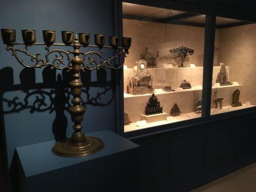 Menorah, Bernard Museum, Temple Emanu-El