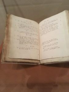 King James Bible Notes, Yeshiva University Museum, New York