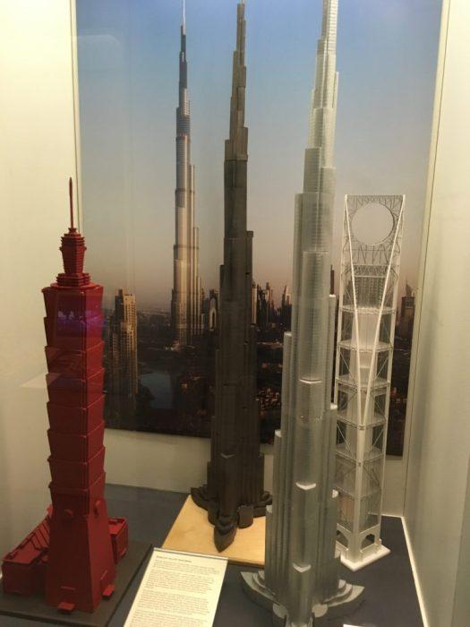 Architectural Models of Supertalls, Skyscraper Museum