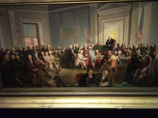 Thomas Rossiter, Signing of the Constitution, Fraunces Tavern Museum