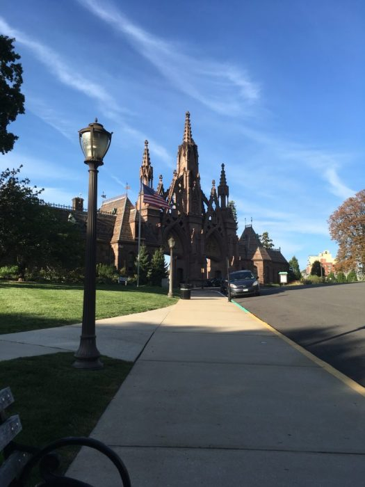 Gothic Gate, Green-Wood Cemetery
