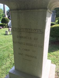 Gravestone, Green-Wood Cemetery