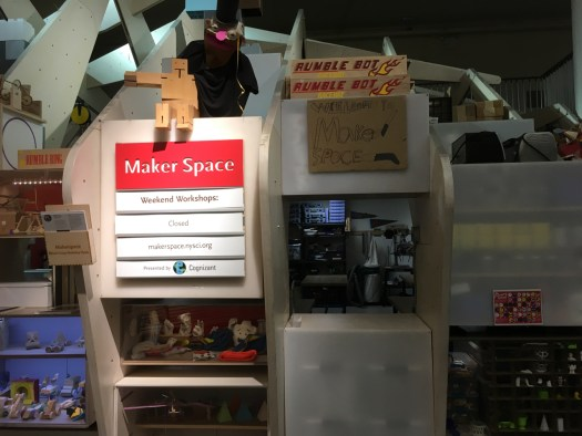 Maker Studio at New York Hall of Science