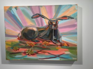 Judith Linhares at BMCC's Shirley Fiterman Art Center
