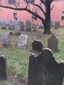 Grace Episcopal Church graveyard in Jamaica Queens