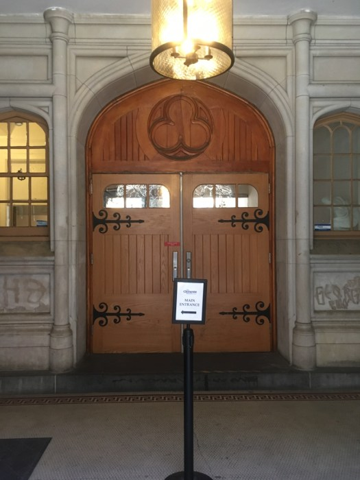 Clemente Center Door