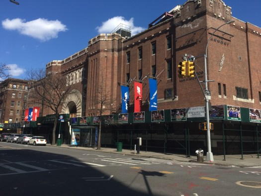 National Track and Field Hall of Fame, Armory