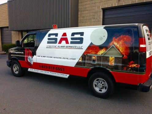 contractor vehicle graphics for New Rochelle NY