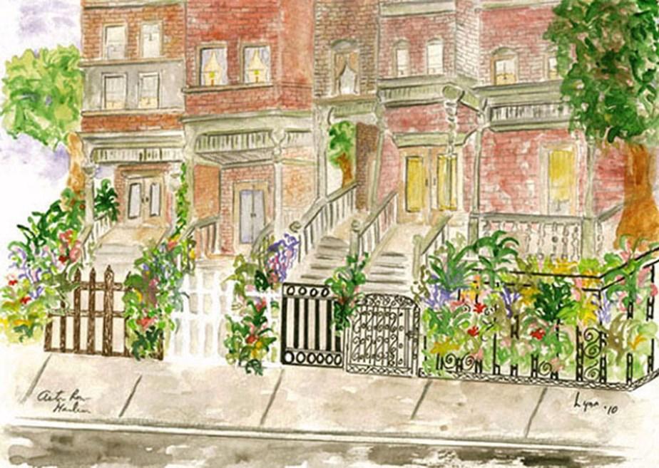 Astor Row in Harlem