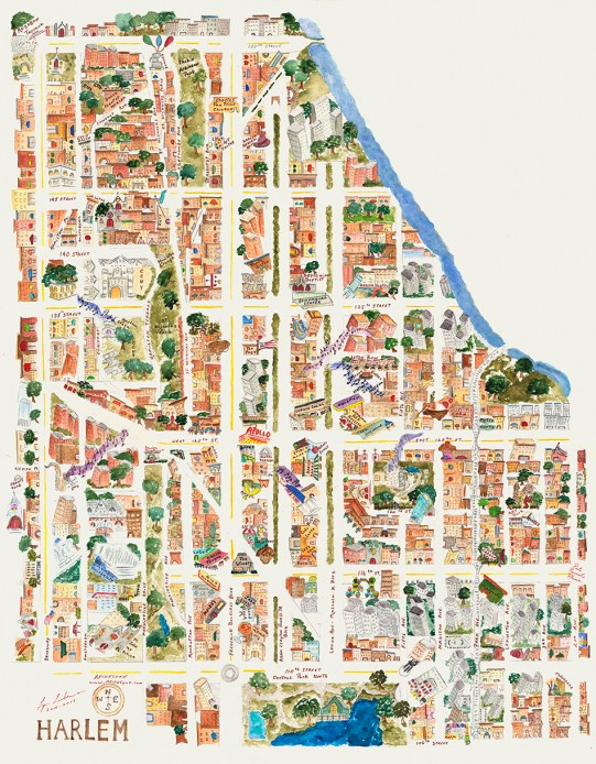 Map of Harlem - Harlem Map
