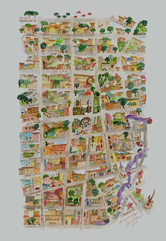 West Village Map