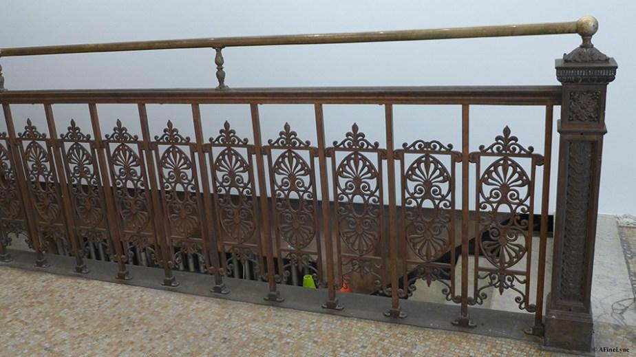 original railing at 190 bowery