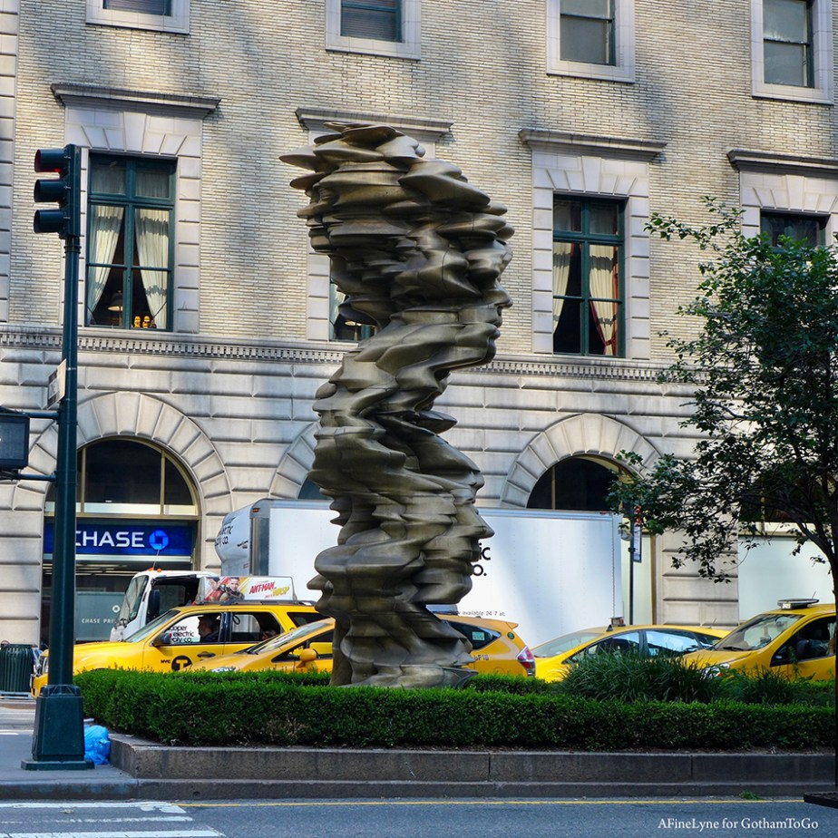 Tony Cragg on Park Ave