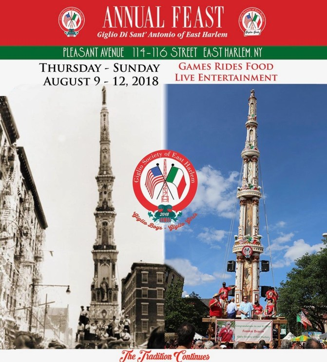 Feast of Giglio in East Harlem