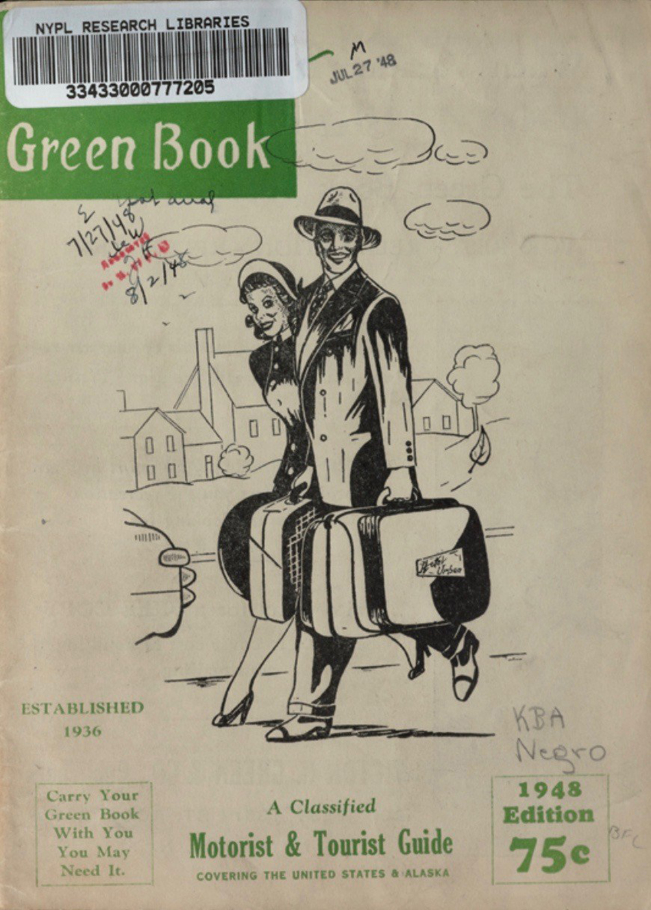 Image result for The Green book Victor hugo Green cover
