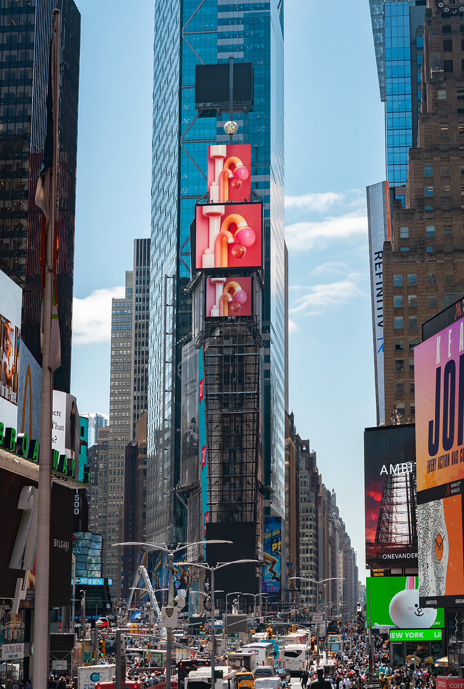 One Times Square unveils New Digital Art Installation ~ META ...