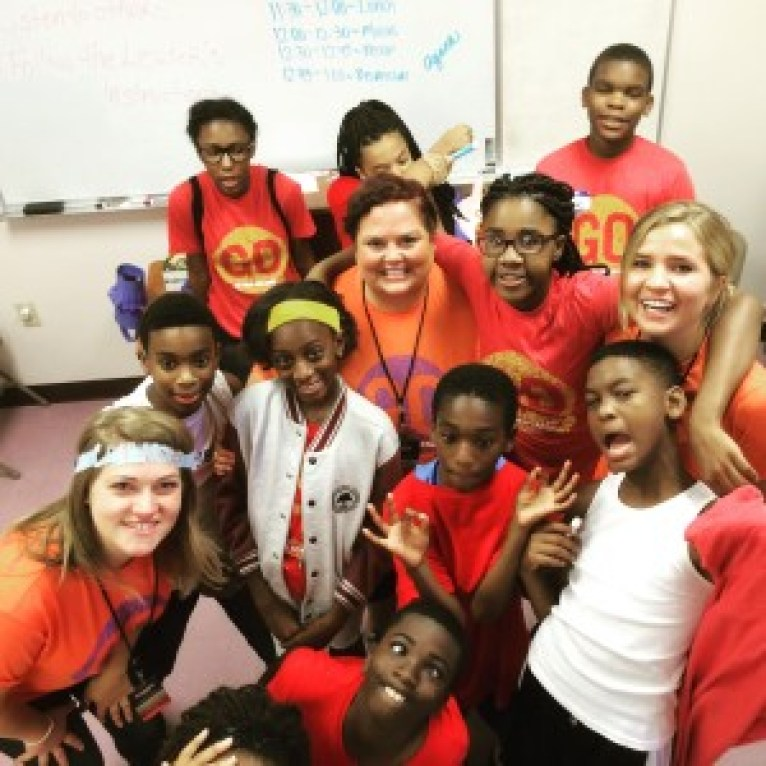 Compare this crazy group of 6th graders to the 5th grade group below!
